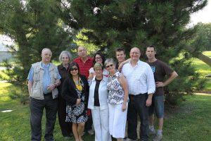 family photo in stratford 2013